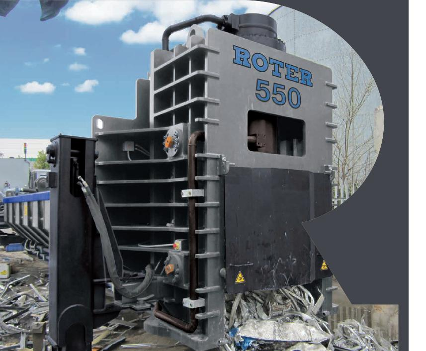 Pressa Cesoia Roter Recycling spa