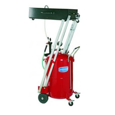 Serbatoio carrellato aspiratore/recuperatore per autocarri